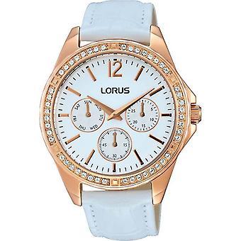 Lorus RP640CX-9 White Leather Strap Wristwatch