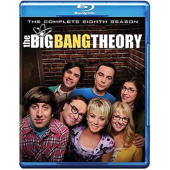 Big Bang Theory: The Complete Eighth Season [Blu-ray] USA import