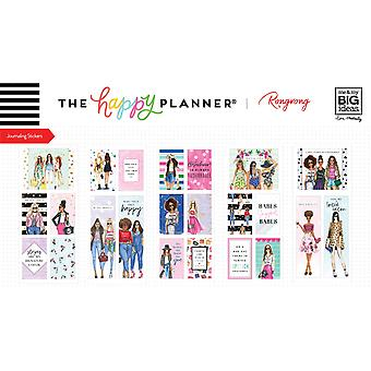 Happy Planner X Rongrong Medium Flip Stickers 5/Sheets-The Future is vrouwelijk