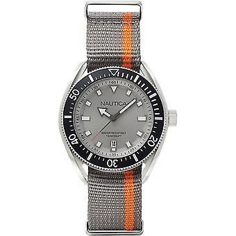 Nautica Watch NAPPRF003 - Tyg Gents Quartz Analog