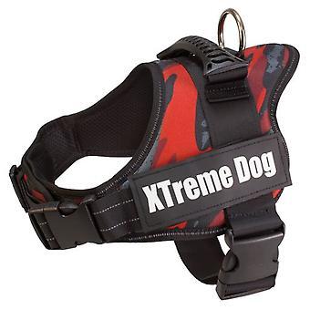 Arquivet Harnais pour Chiens Xtreme Dog Camouflage Rouge
