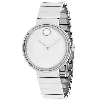 Movado Mujeres's Edge Silver Dial Watch - 3680012