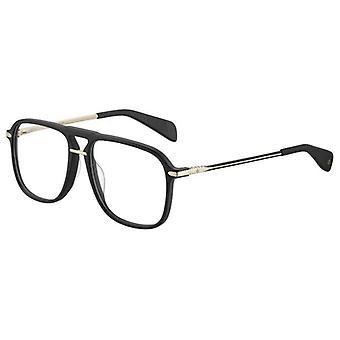 Rag & Bone RNB7006 I46 Black-Gold Glasses