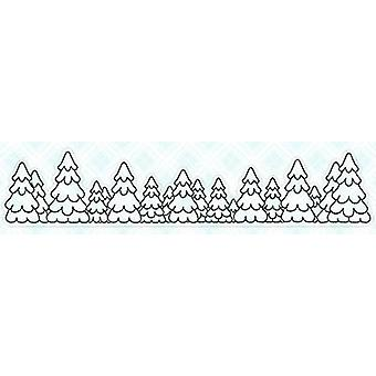 LDRS Creative Tree Line Clear Stamps