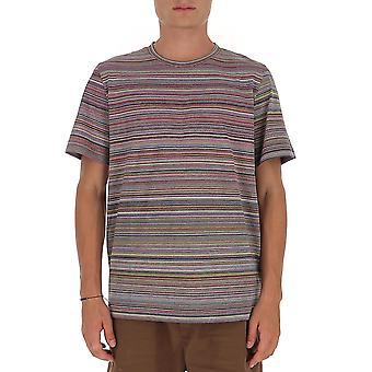 Missoni Mul00037bj0001f200u Men's Multicolor Katoen T-shirt