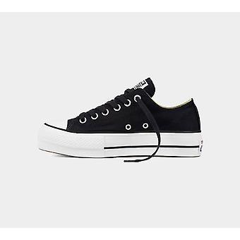 Converse Ctas Lift Ox 560250C Black Women Shoes Boots