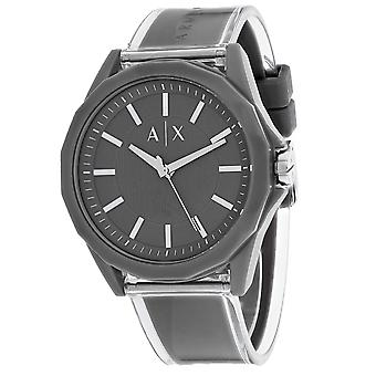 95, Armani Exchange Hombres 's AX2633 Reloj gris cuarzo