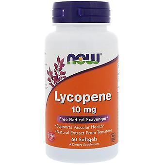 Maintenant Aliments, Lycopène, 10 mg, 60 Softgels