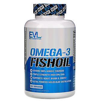 EVLution Nutrition, Omega-3 Fish Oil, 120 Softgels