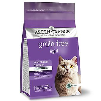Arden Grange Grain Free Cat Light con pollo fresco e patate - 4kg