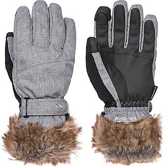 Trespass Womens Shiloh Lightly Padded Adjustable Ski Gloves