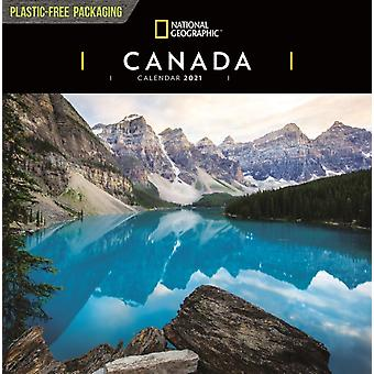 Canada National Geographic Square Wall Calendar 2021