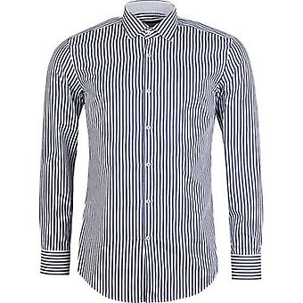 BOSS Joras gestreift trim Slim Fit Shirt