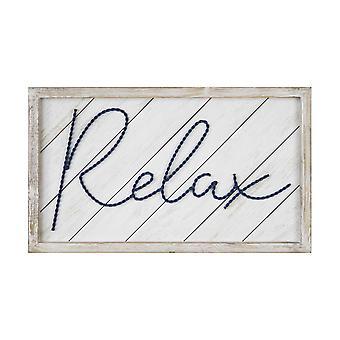 """20"""" x 12"""" """"Relax"""" Framed Wall Art"""