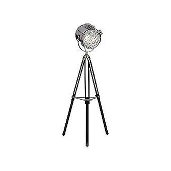 Ideal Lux Kraken - 1 Light Stehleuchte Chrom, Schwarz, E27