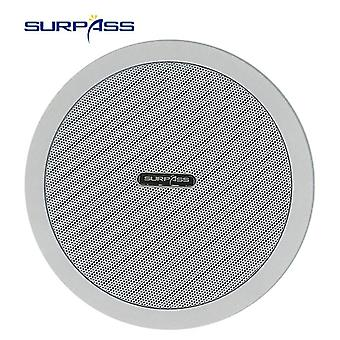Waterproof Built In Digital Class D Amplifier Bluetoothand  Ceiling Speaker 10w 5inch  Active Loadspeaker For Indoor Music Playback (white)
