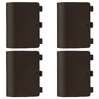 Replacement battery back cover holder for green/orange microsoft xbox one controllers ? 4 pack brown