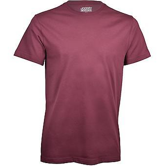Jockey USA Originals American Crew Neck T-Shirt, Light Claret