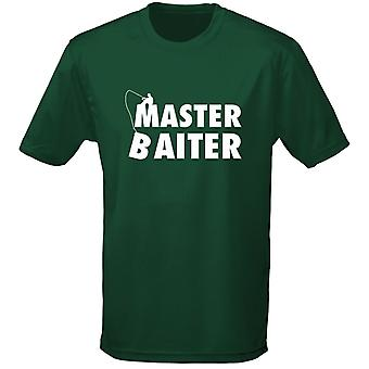 Master Baiter Fishing Angling Carping Mens T-Shirt 10 Colours (S-3XL) by swagwear