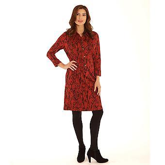 POMODORO Pomodoro Red Dress 12062
