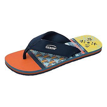 Oxbow Velot Flip Flops - Orange - 46