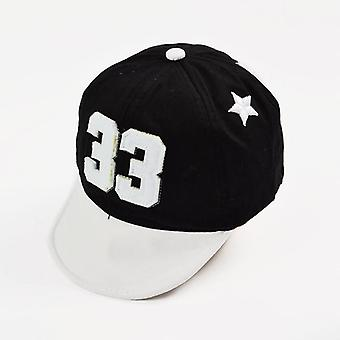 Cute Baby Cap -embroidery Number
