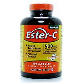 American Health Ester-c With Citrus Bioflavonoids, 500 mg, 225 Vegitabs