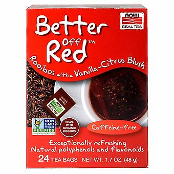 Nyt Foods Better Off Red Rooibos Tea, Vanilla Citrus Blush 24 pussia