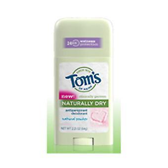 Tom's Of Maine Naturally Dry Womens Antiperspirant Stick Deodorant-Natural Powder, 2.25 oz