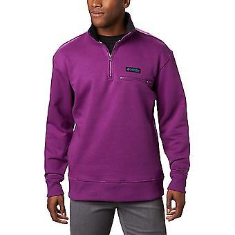 Columbia Bugasweat Quarter Zipplum EM2156575 universal all year men sweatshirts