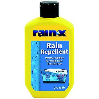 Rain-x rain repellent glass treatment liquid/silicone
