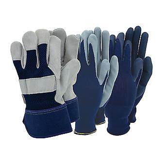 Town & Country Mens Gloves With Rigger x 3 TGL510