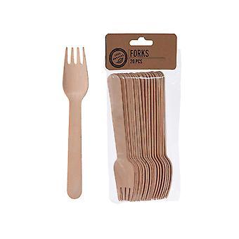 Otterdene Bamboo Forks x 20 AP753