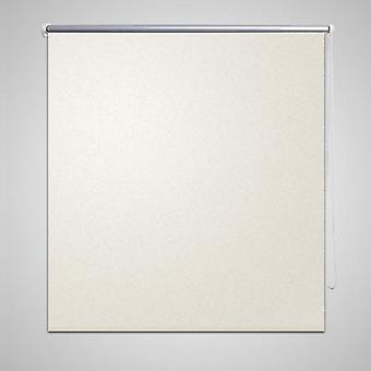 Blackout roller blind 100 x 230 cm white