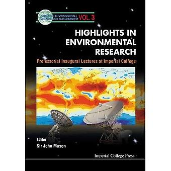 Highlights in Environmental Research: Professional Inaugural Lectures at Imperial College (Series on Environmental...