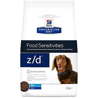 Hill's Canine z/d Mini (koiria, koira elintarvikkeet, kuivata elintarvikkeet, Veterinary diet)