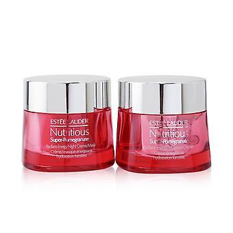 Nutritious Super-pomegranate Day & Night Radiance Set: Moisture Creme 50ml+ Night Creme/mask 50ml - 2pcs