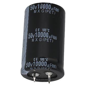 Snap In Type Aluminium Radial Lead Electrolytic Capacitor 50V 10000UF