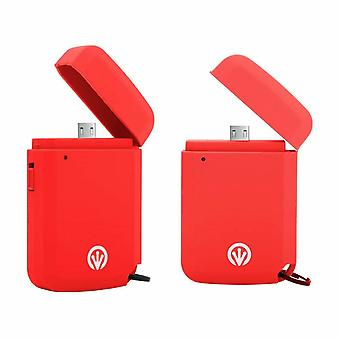 iFrogz Power Golite Express Micro USB 700mAh Portable Charger - Red