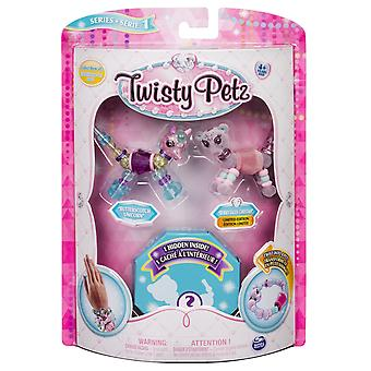 Twisty petz 6044203 collectible dazzling bracelets, 3 pack set, assorted pets