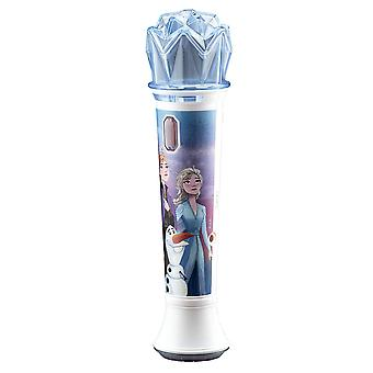 Frozen 2 sing along microphone and mp3 karaoke with flashing lights