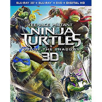 Teenage Mutant Ninja Turtles: Out of the Shadows [Blu-ray] USA import