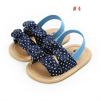 Baby Bowknot plaid gestreift floral Party Prinzessin Strandschuhe