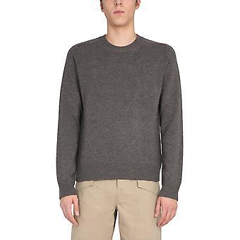 Bottega Veneta 648380v0am01306 Mænd's Grey Wool Sweater
