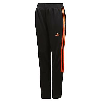 Adidas Boys 3 Stripe Tiro Track Pants Casual Lounge Joggers Black DV1345