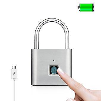Usb الشحن- بصمة قفل الذكية، قفل الباب