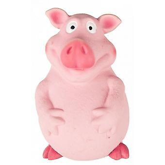 Fofos Pig Latex Dog Squeak Toy
