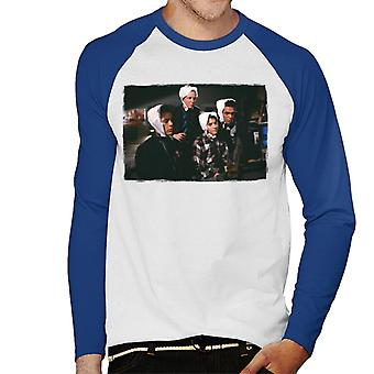Weird Science Why Are We Wearing Bras On Our Heads Men's Baseball Long Sleeved T-Shirt
