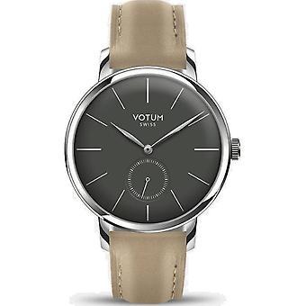 VOTUM - Reloj de señoras - VINTAGE SMALL - VINTAGE - V11.10.40.04 - correa de cuero - beige