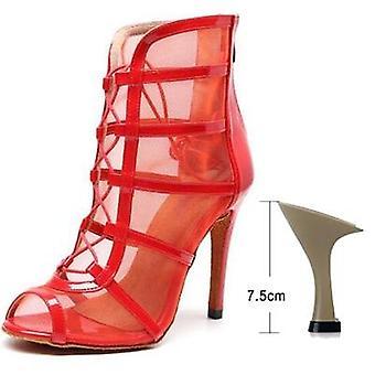 امرأة عالية أعلى أحذية الرقص اللاتيني